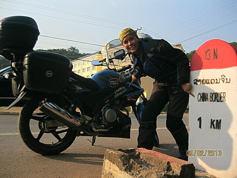 Women Who Ride: Anita Yyusof reaches the Laos-China border