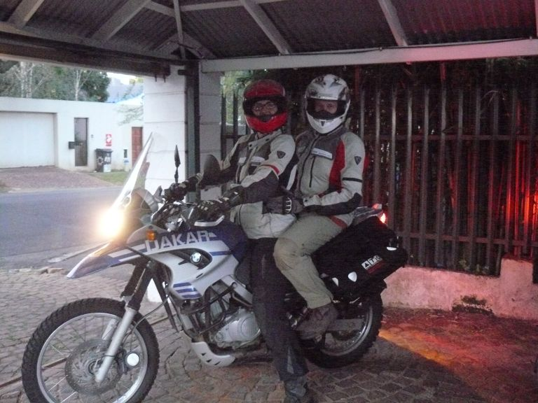 Women Who Ride: Anne Schwarz rides with her husband in pillion