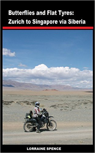 Books About Motorcycling: Butterflies And Flat Tyres by Lorraine Spence
