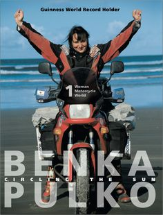 Books About Motorcycling: Circling The Sun by Benka Pulko