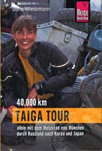 Books About Motorcycling: Doris Wiedrmann Taiga Tour