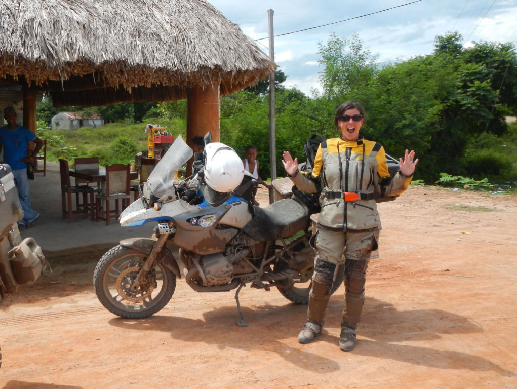 Women Who Ride: Chantal Cournoyer in Colombia on her ride across the Americas