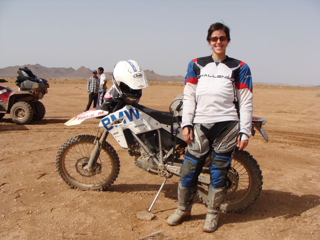 Women Who Ride: Chantal Cournoyer competing at the Rally Trophée Roses des Sables