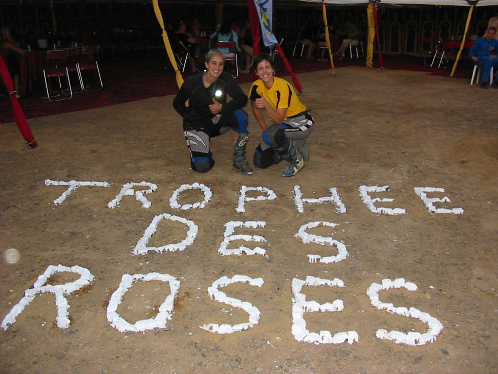 Women Who Ride: Chantal Cournoyer at the Rally Trophée Roses des Sables with friend Stéphanie Chagnon