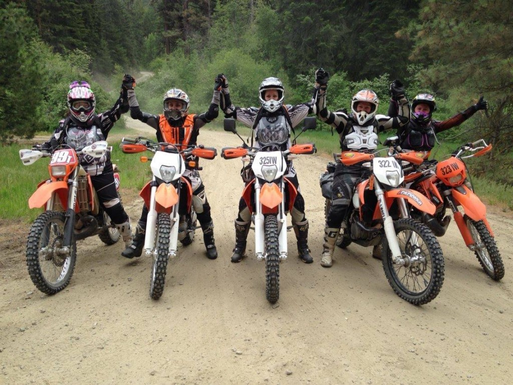 Women Who Ride: The Dirty Girls Moto Adventures club