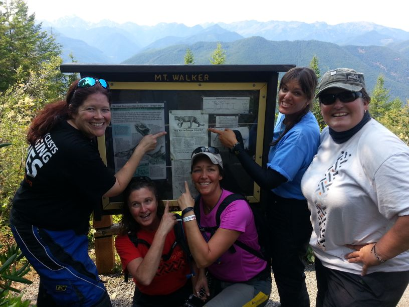 Women Who Ride: The Dirty Girls share a laugh on Mt. Walker