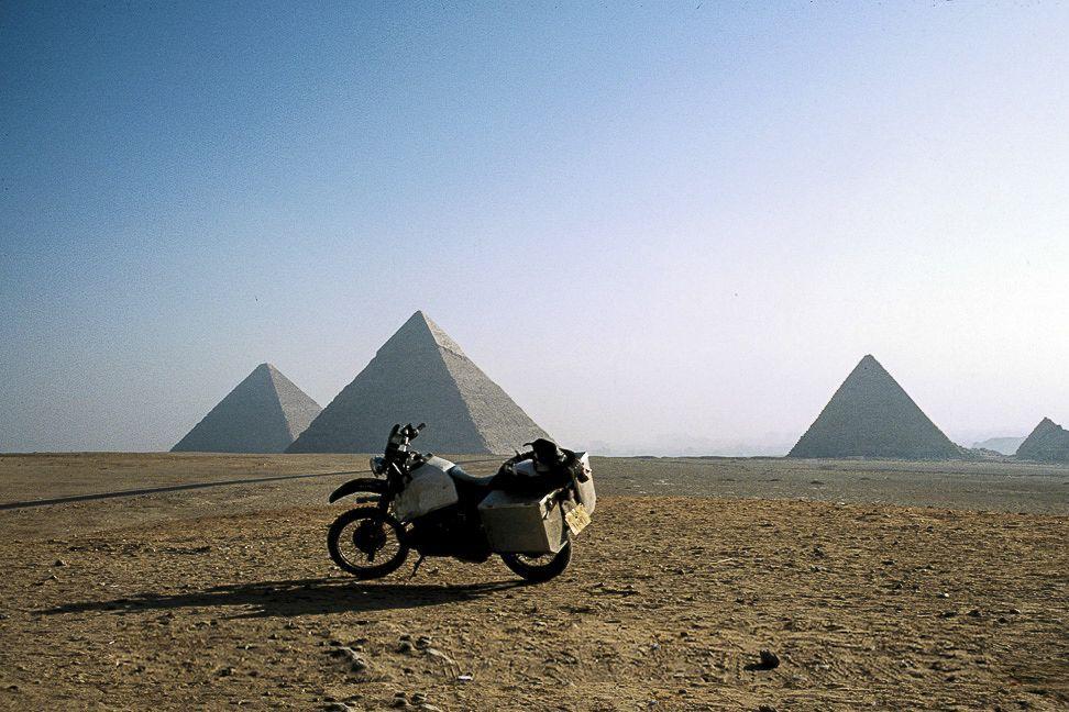 Doris Wiedemann in Egypt