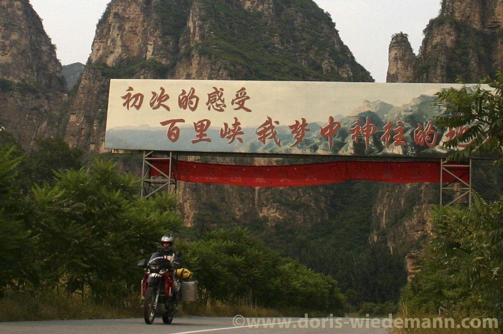 Women Who Ride: Doris Wiedemann rides solo across China