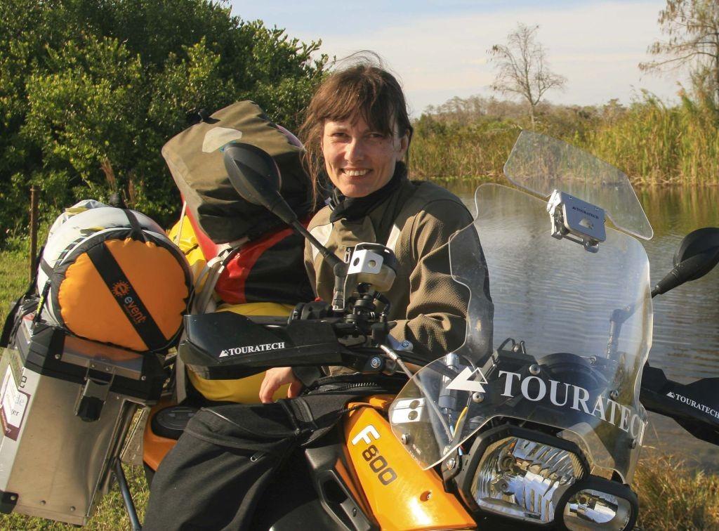 Motorcycling Legend Doris Wiedemann