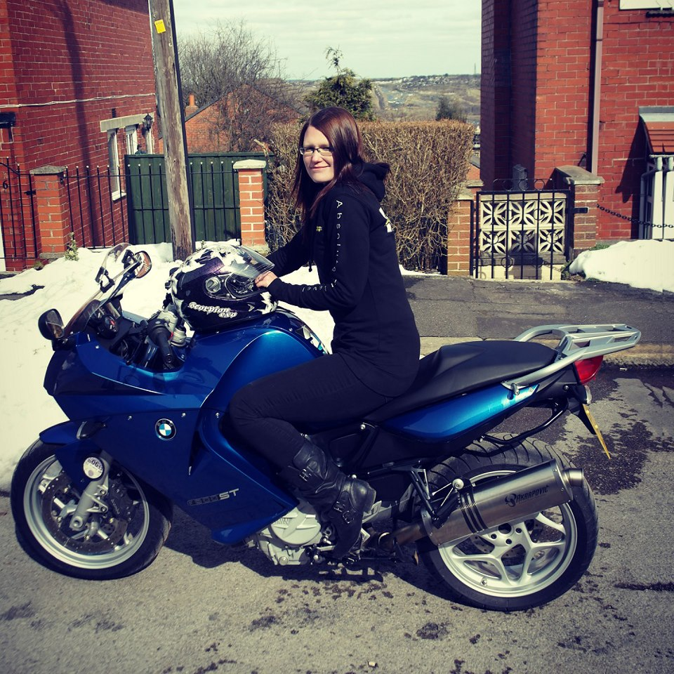 Women Who Ride: British motorcyclist Ellie Hill on her BMW F800ST