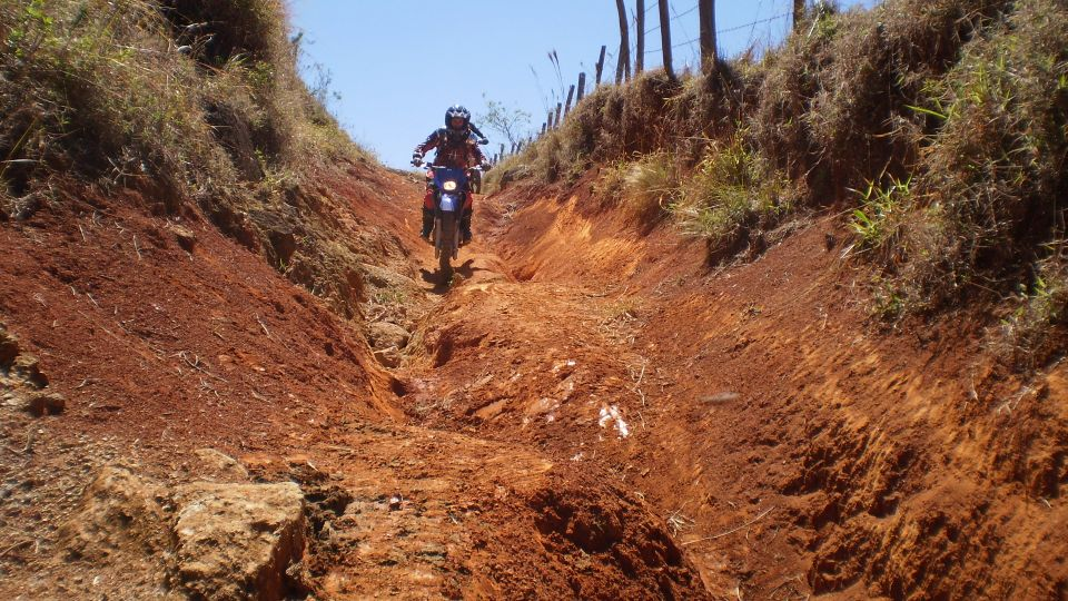 Women Who Ride: Fatima Ropero riding a rented enduro in Peru