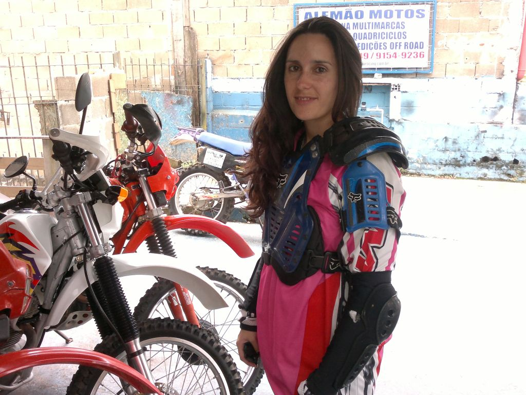 Women Who Ride: Fatima Ropero renting bikes in Brazil