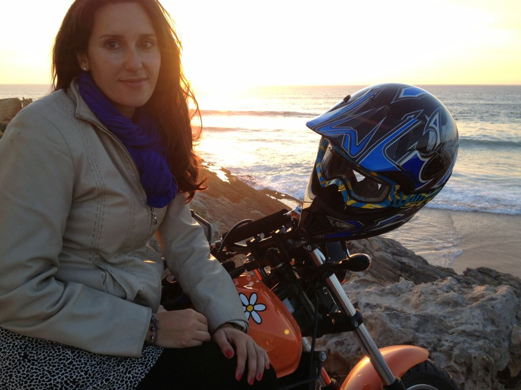 Women Who Ride: Spanish motorcyclist Fatima Ropero on a weekend ride