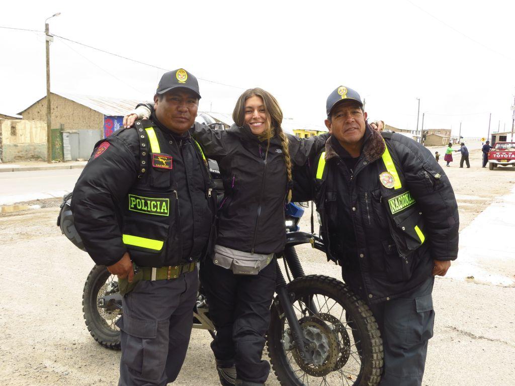 Foto 21. Control policial - Perú