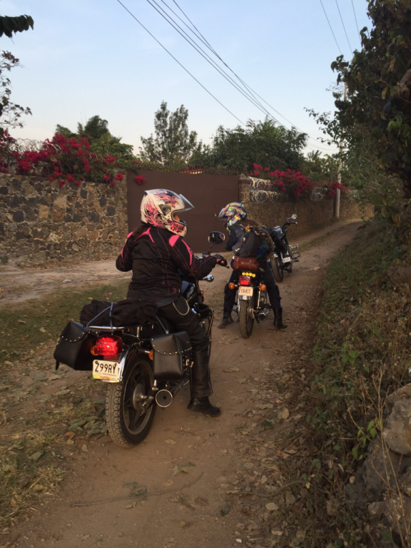 Women Who Ride: After climbing a difficult dirt road somewhere in Tepoztlán