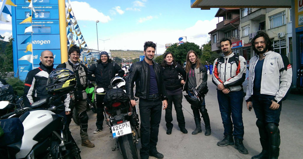Women Who Ride: Gizem Özcan with her motorcycling friends