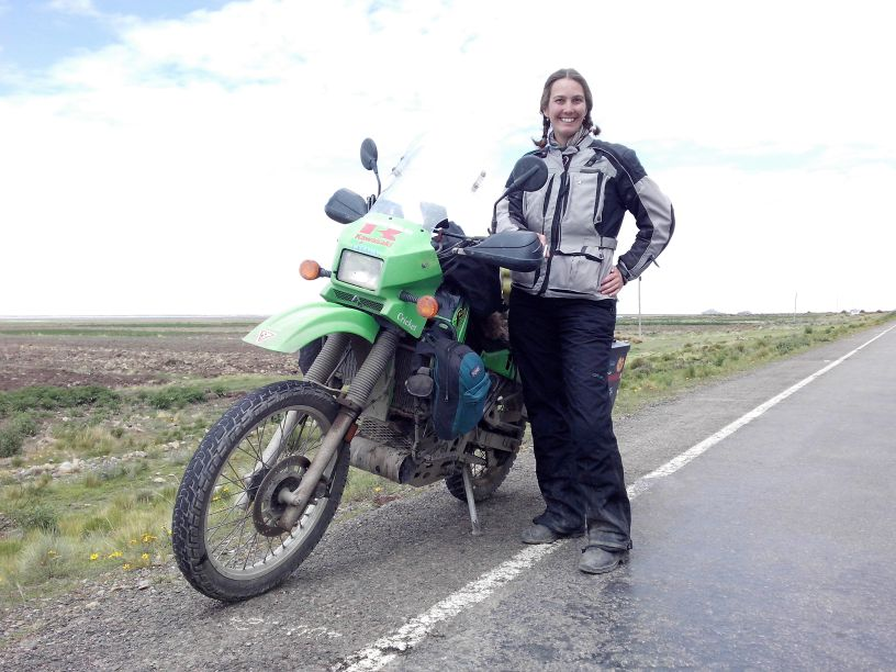 Women Who Ride: Canadian motorcyclist Jayne Davidson with her Kawasaki KLR 650