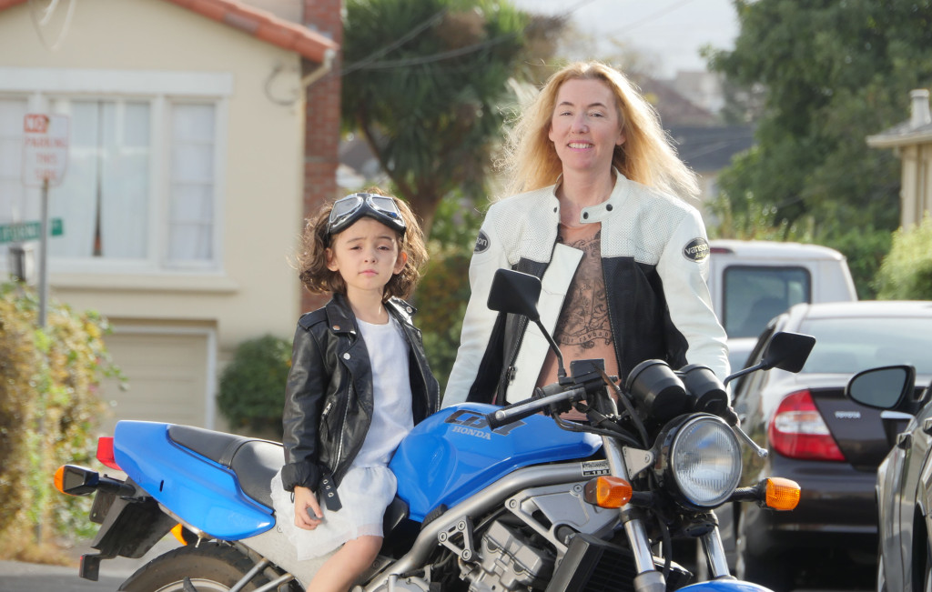 Women Who Ride: Motorcyclist Jenn Keys with her daughter and Honda CB-1
