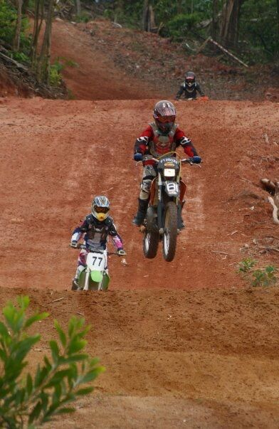Women Who Ride: Juvena Huang riding motocross