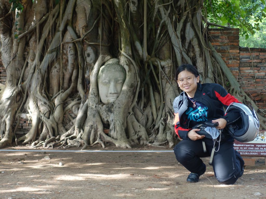 Women Who Ride: Juvena Huang in Ayutthaya, Thailand
