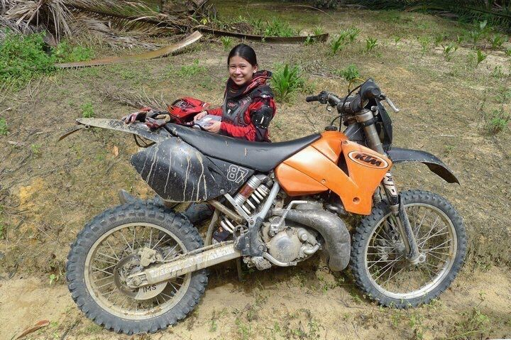 Women Who Ride: Juvena Huang trail riding in Malaysia