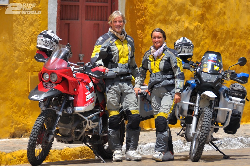 Women Who Ride: Lisa Thomas in Izamal, Mexico