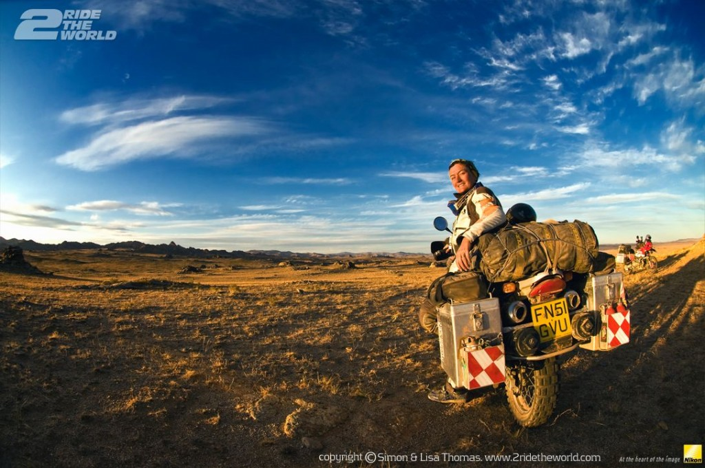 Women Who Ride: Lisa Thomas in Mongolia