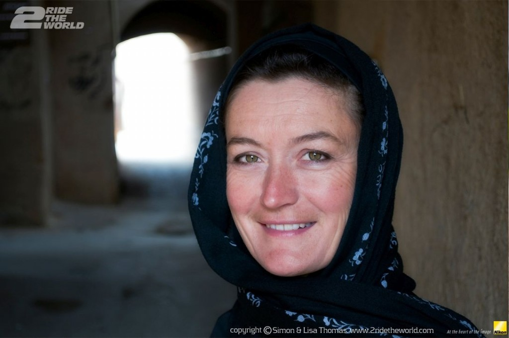 Women Who Ride: Lisa Thomas in Iran