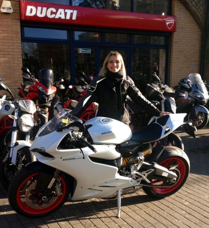 Women Who Ride: Maria Dalla Colla with her first bike