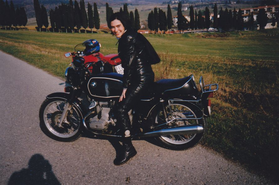 Women Who Ride: Marina Cianferoni on her BMW R75/7 named Frida