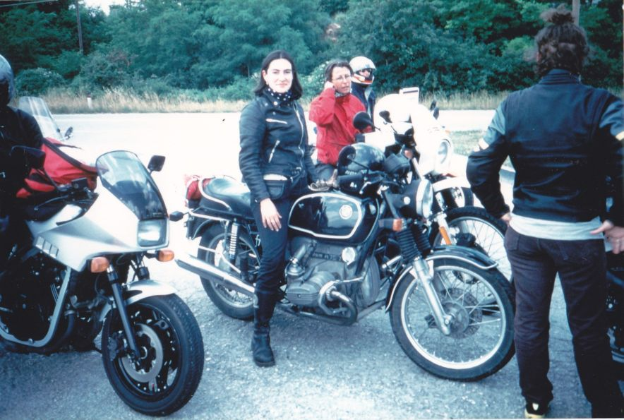 Women Who Ride: Marina Cianferoni at the first reunion of Motociclist.net in 1999
