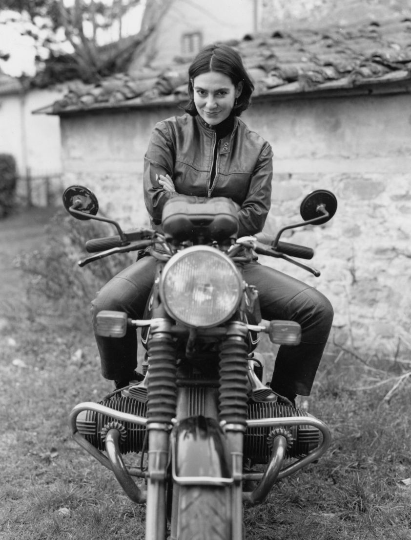 Women Who Ride: Italian motorcyclist Marina Cianferoni (Photo Credit: Rebecca Heyl)