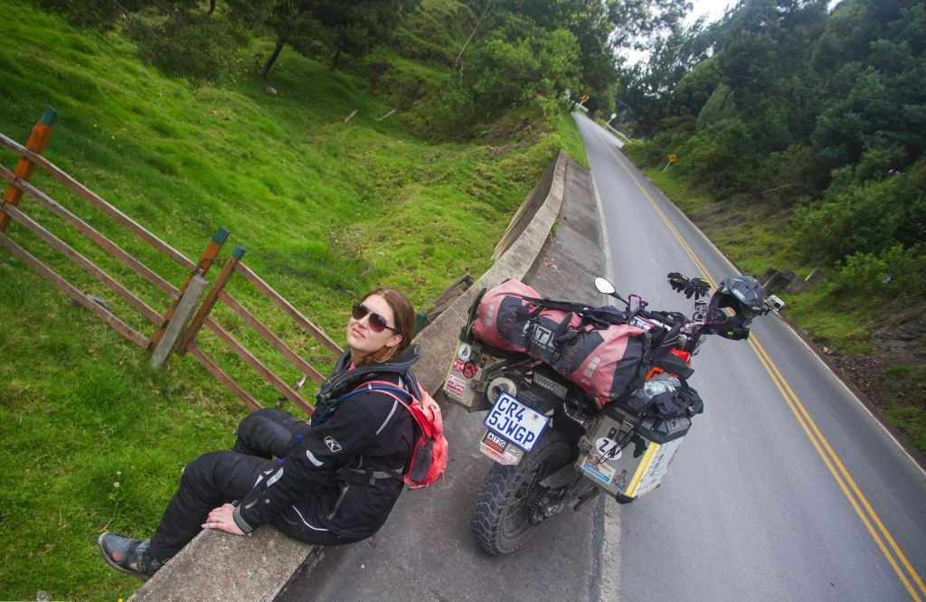 Women Who Ride: Megan Snyman at Barichara, Colombia