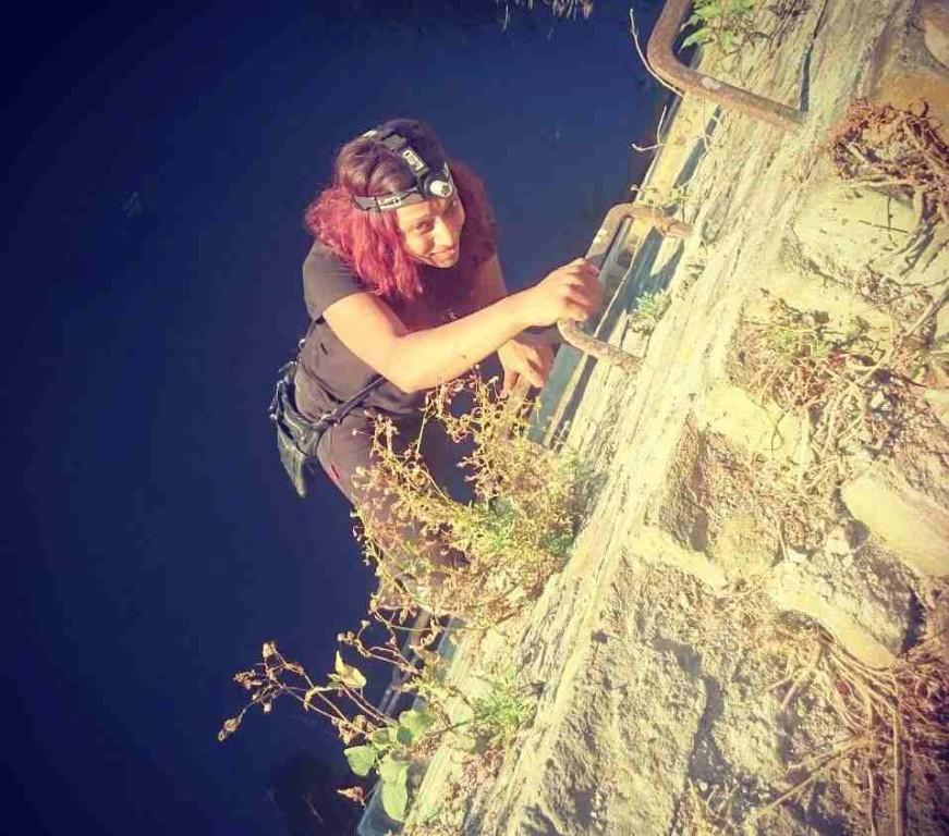 Nimisha Patel exploring