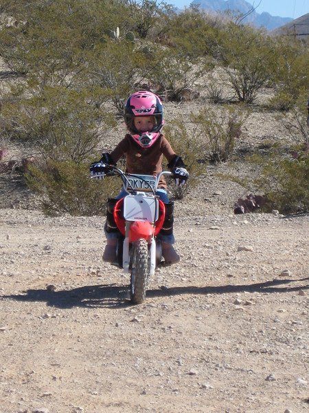 Women Who Ride: Nyla Roberts getting dirt bike lessons in Las Cruces, New Mexico