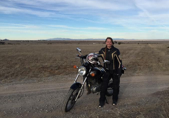 Women Who Ride: Nyla Roberts in the Great Plains on her first motorcycle