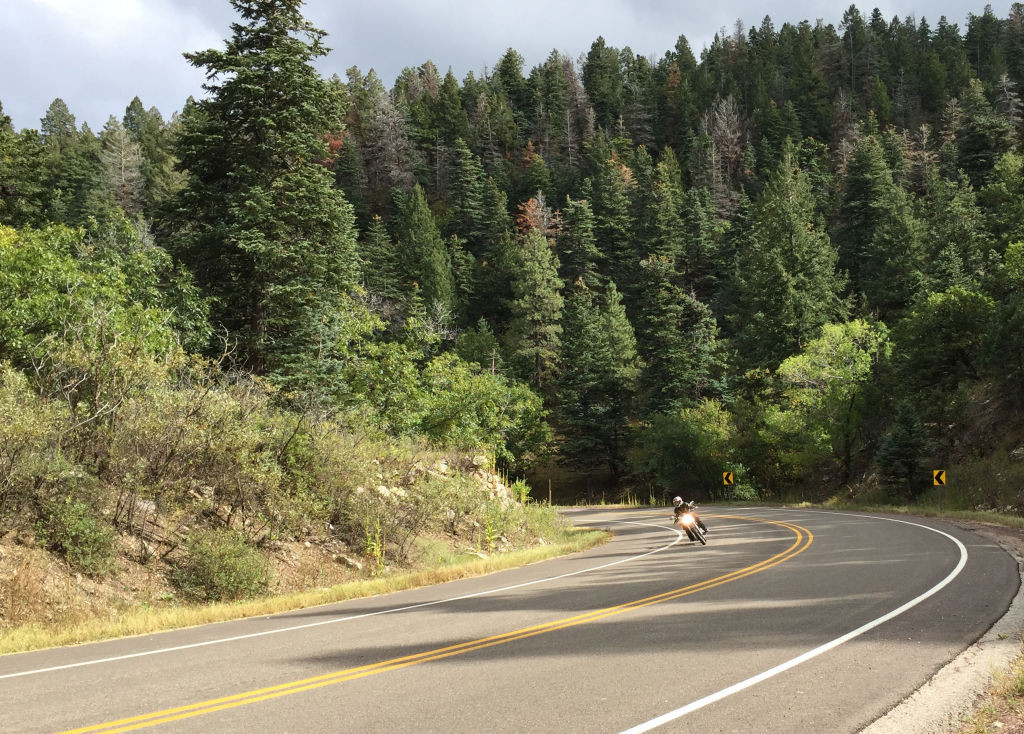 Women Who Ride: Motorcyclist Nyla Roberts rides the twisties in New Mexico