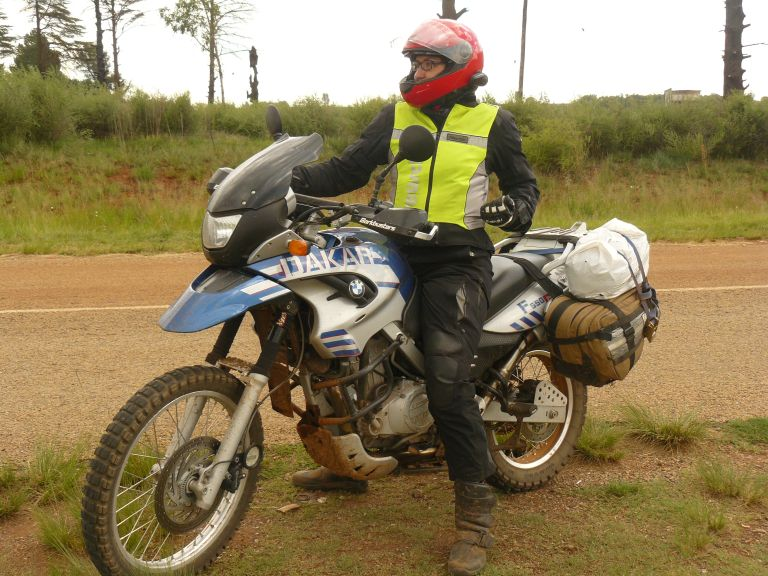 Women Who Ride: Anne Schwarz on her BMW Dakar