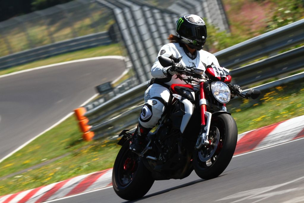 Women Who Ride: British Motorcyclist Sherrie Woolf at the Nürburgring race track