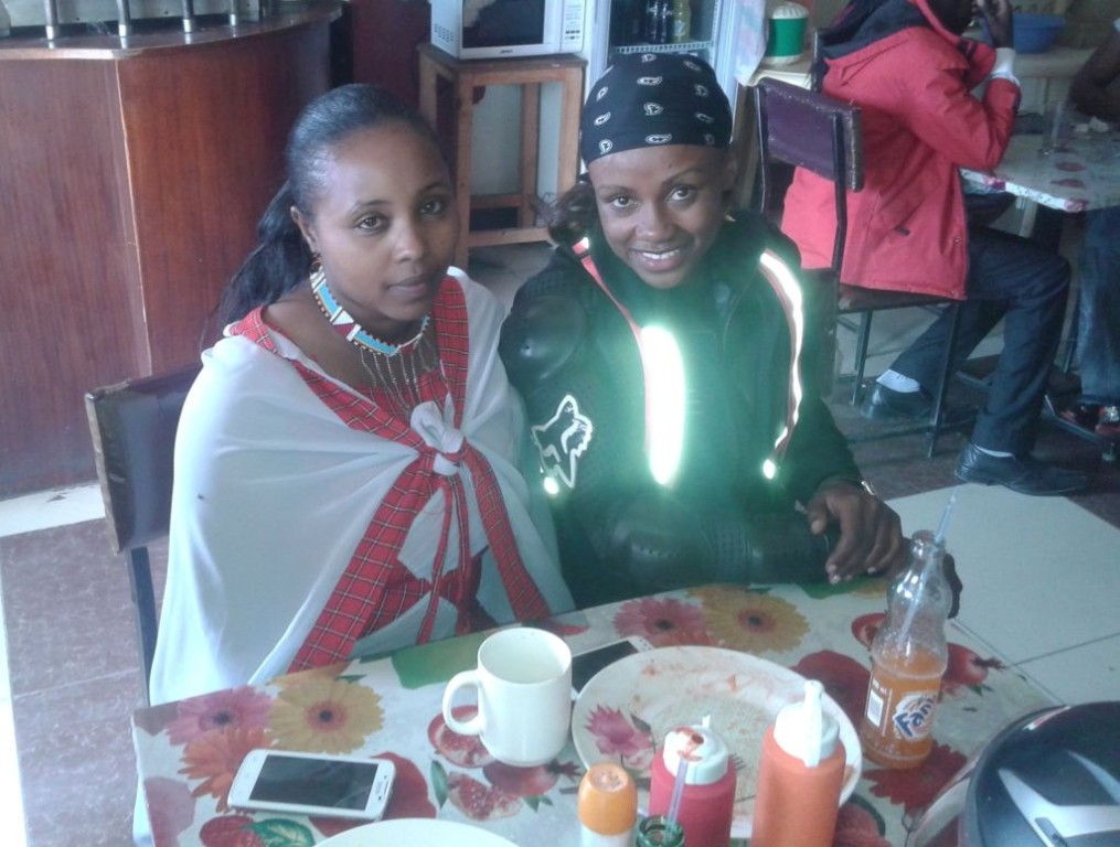 Women Who Ride - Visiting a childhood friend along the Narok route