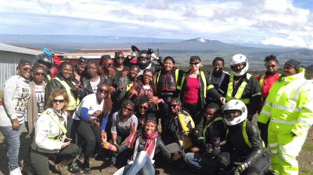 Group ride from Nairobi to Naiyasha