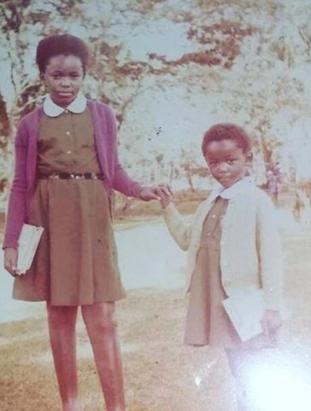 Wamuyu Ndarathi as a child.
